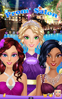 Screenshot of Prom Salon