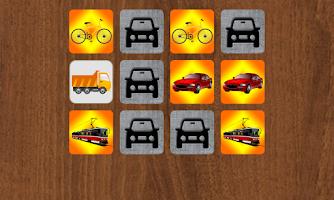 Screenshot of Kidzee Memory Match