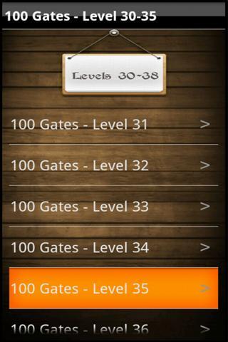 100 Gates Guide - screenshot