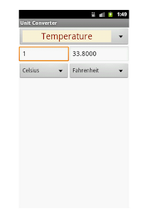 Quick Unit Converter- screenshot thumbnail