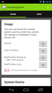 Sound-App Pro Screenshot