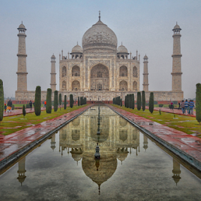 Reflection  by Amrita Bhattacharyya - Buildings & Architecture Statues & Monuments ( reflection,  )