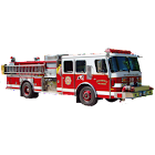 Fire Trucks & Sirens for Kids icon