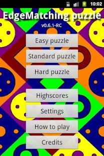 EdgeMatching Puzzle- screenshot thumbnail