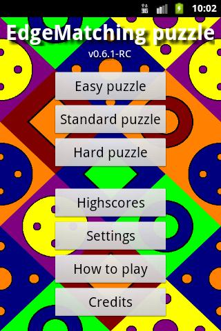 EdgeMatching Puzzle- screenshot