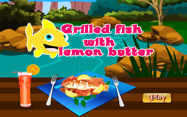 Grilled Fish Cooking Games - screenshot