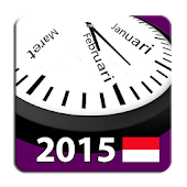 Indonesia 2015 Calendar