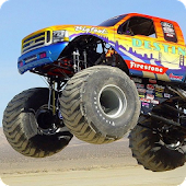 Bigfoot Cars Live Wallpaper HD