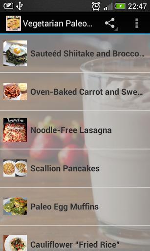 Vegetarian Paleo Diet Recipes