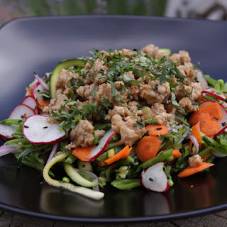 Hot Sour Salty Sweet Minted Pork Salad