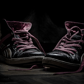 Shoes by Stefan Stevanovic - Digital Art Things ( abstract, shoes, sharp, sport, reebok, , Lighting, moods, mood lighting, artistic, object )