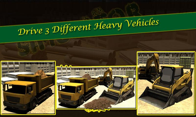 Screenshots of Heavy Excavator 3D Simulator 3 for iPhone