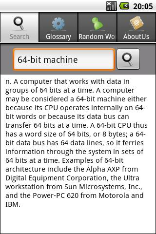 IT & Computer Dictionary- screenshot