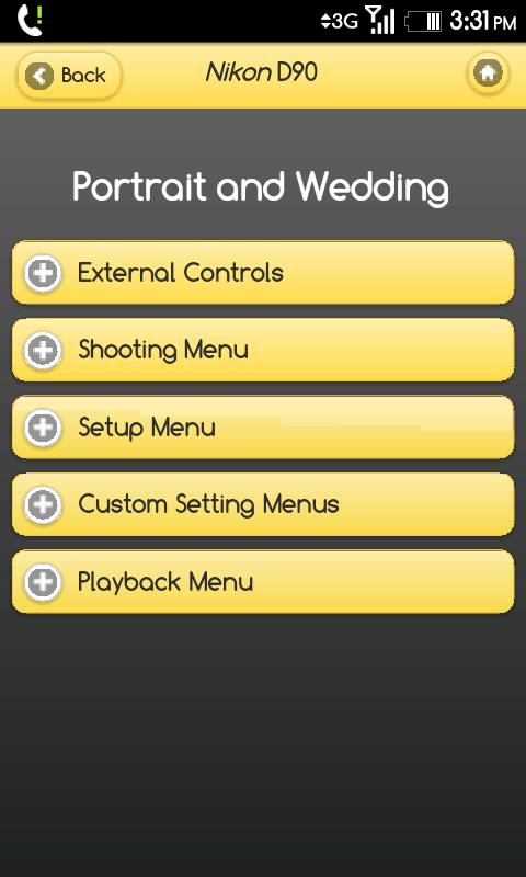 Nikon D90 Settings Guide - screenshot