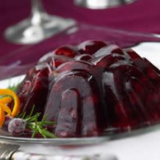 Molded Cranberry Fruit Salad.