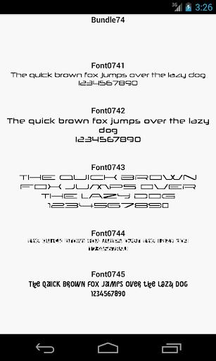 玩個人化App|Fonts for FlipFont 74免費|APP試玩
