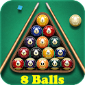 Pool Billiards: 8 Balls icon