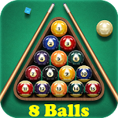 Pool Billiards: 8 Balls