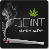 Cannabis Joint Battery Widget