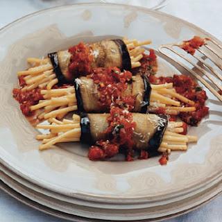 Macaroni and Eggplant.