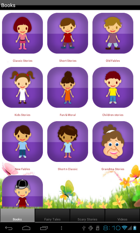 Kids Story Books - screenshot