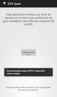 Screenshot of Gps Spain - España