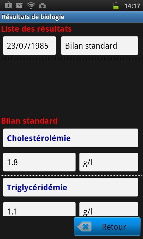AlmaPro version mobile- screenshot
