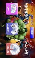 Screenshot of Superheroes Match