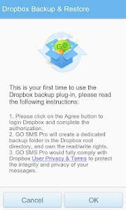 Download GO SMS Pro Dropbox Backup APK latest version 1 2
