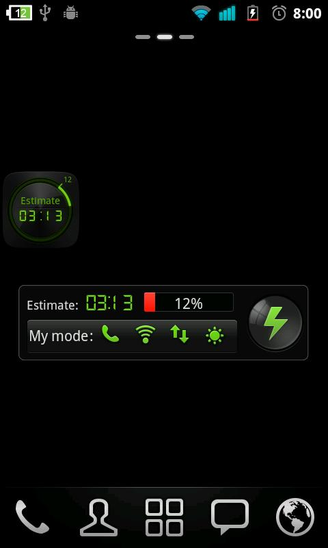 Black Widget GO Power Battery- screenshot