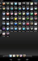 Screenshot of Black Gloss Multi Theme