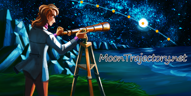 MoonTrajectory.net - screenshot thumbnail
