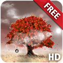 Autumn Live Wallpaper Free HD icon