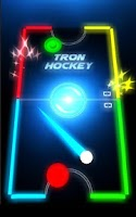 Screenshot of Air Hockey Glow