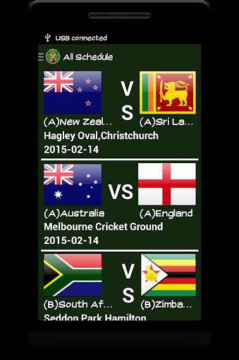 Live Cricket 2015