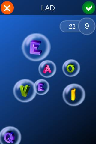 Bubbleword!- screenshot