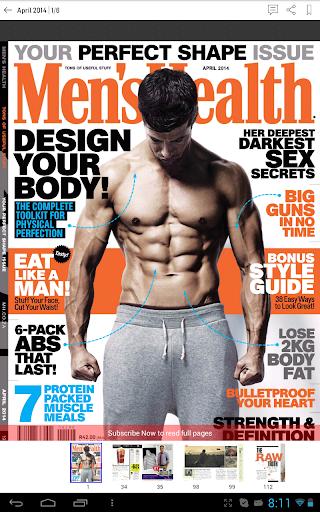 【免費生活App】Men's Health South Africa-APP點子
