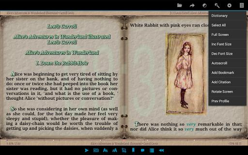 AlReader -any text book reader 1.911805270 screenshots 15