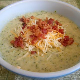 Shrimp Broccoli & Cheese Soup.