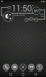 Minimal - Zooper Widget Pro Screenshot 3