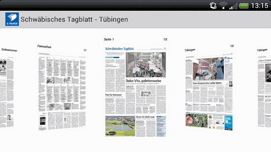 E-Paper Schwäbisches Tagblatt - náhled