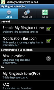 My Ringbacktone Pro-For my ear - screenshot thumbnail