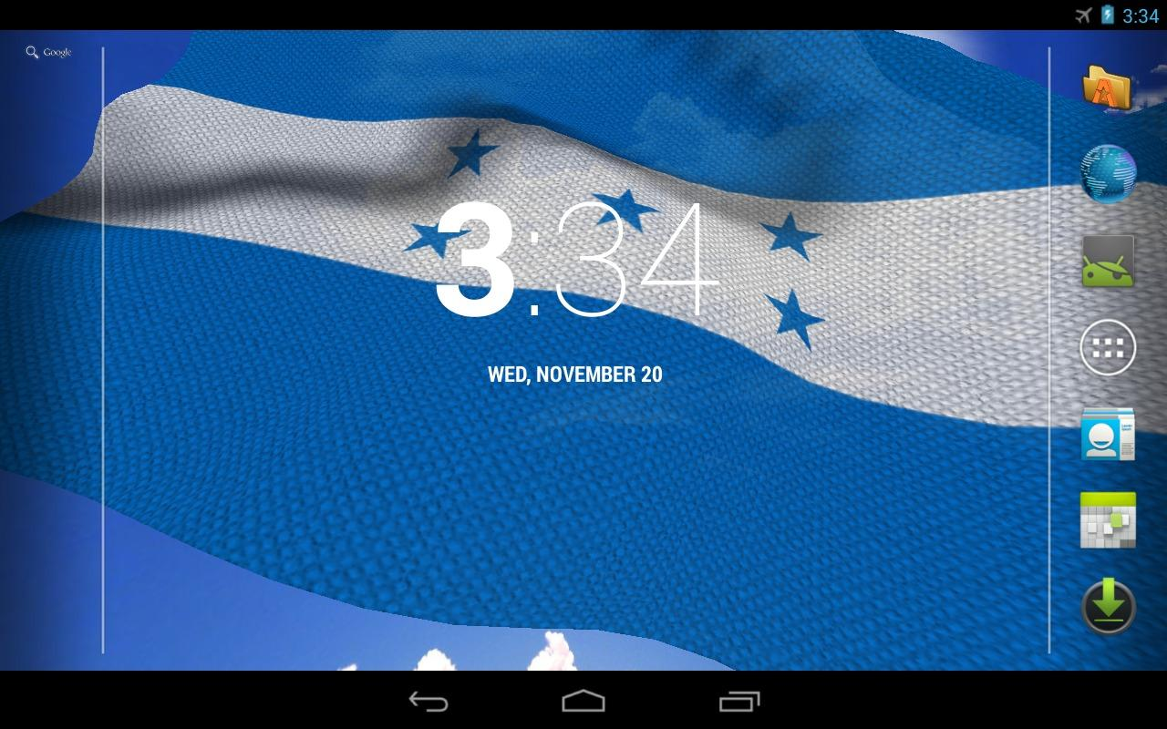 3D Honduras Flag- screenshot
