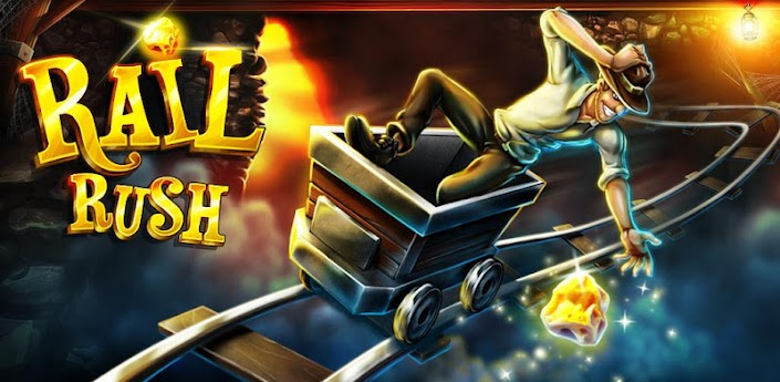 Rail Rush [Ads-Free] apk