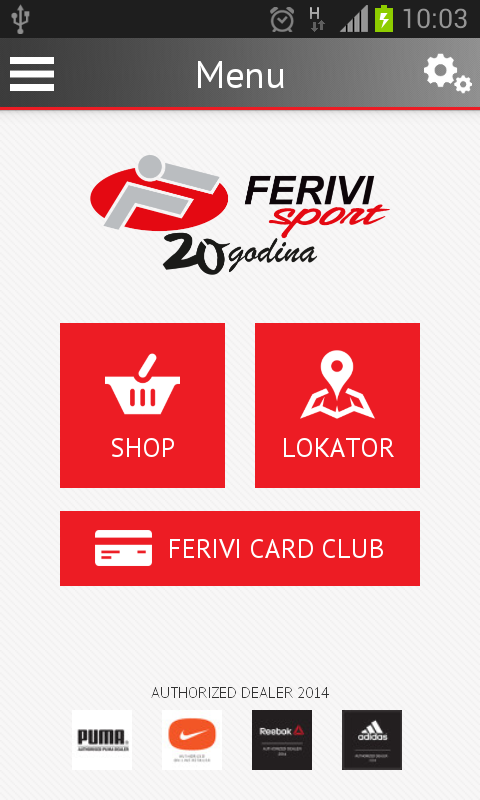 Ferivi- screenshot