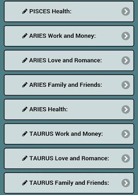 Horoscope 2015 - screenshot