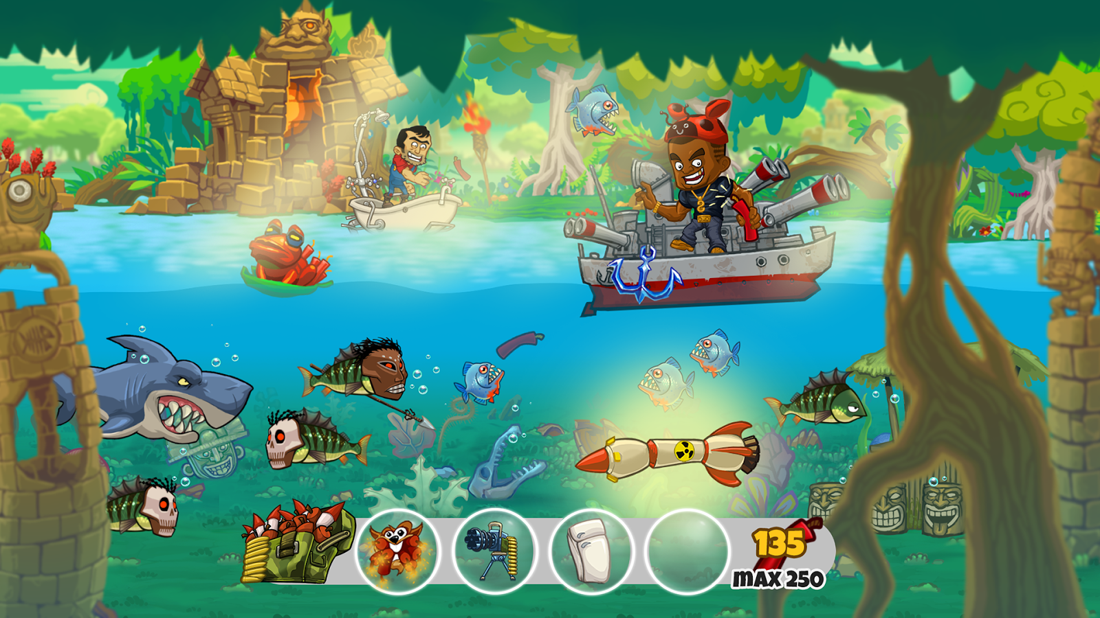 Dynamite fishing world games android apps on google play for Big fish games for android