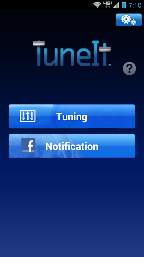 TuneIt - screenshot