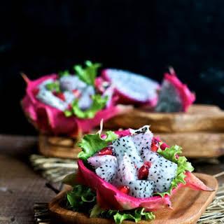 Dragon Fruit Salad.