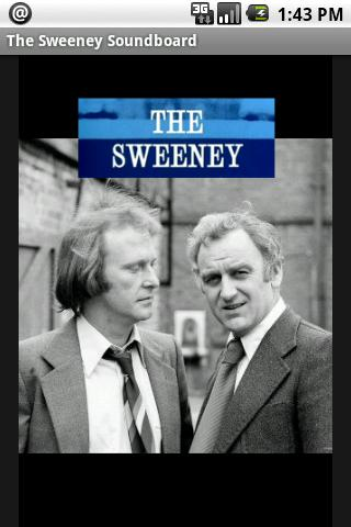 The Sweeney Soundboard - screenshot